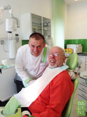 Zadovoljan pacijent s dr. Počanićem